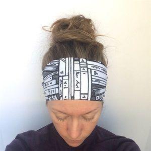 NEW LycraSPORT Headband - Wicking/Non slip